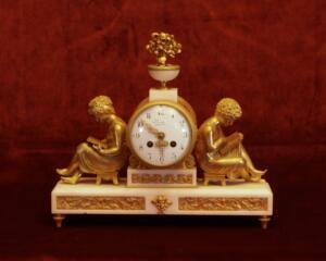 vergoldete Bronze Pendule Image